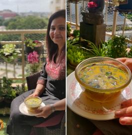 Mango Kadhi | Fajeto Recipe