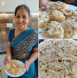 Nariyal Barfi | Fresh Coconut Barfi Recipe