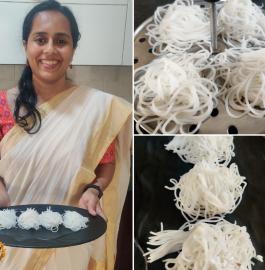 Idiyappam | Nool Puttu Recipe