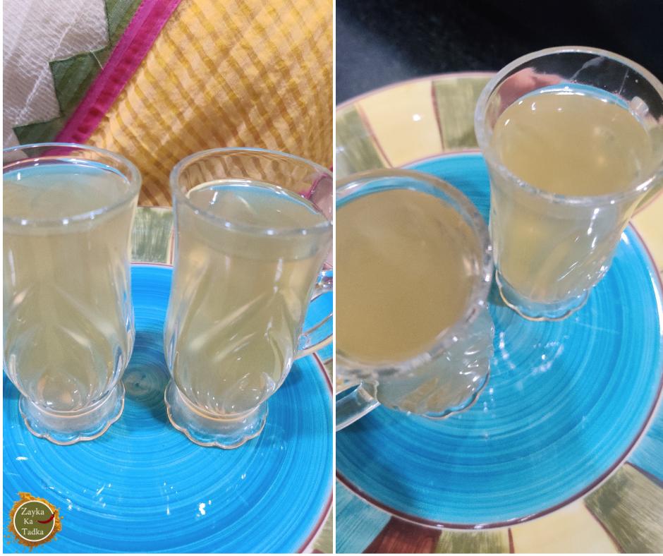 Detox Tea | Cinnamon Ginger Recipe