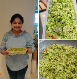 Green Chutney Rice Recipe