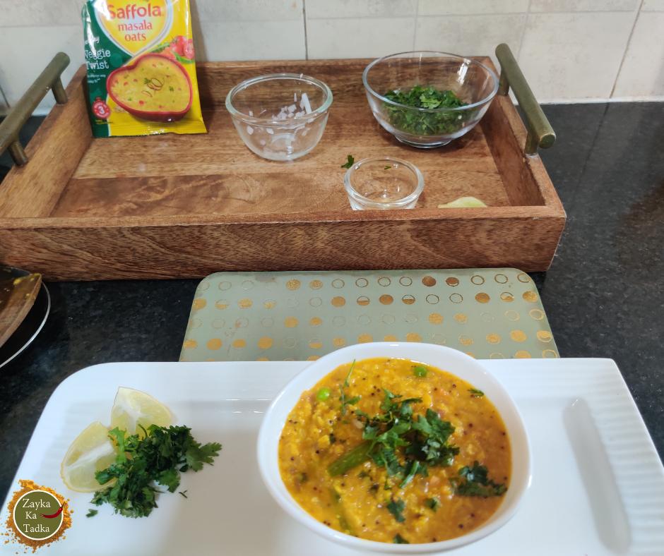 Masala Oats Upma Recipe