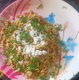 Bhel Husali | Mandakki Husali Recipe