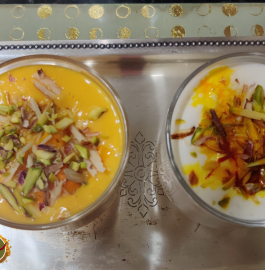 Mango Milkshake and Makhaniya Lassi Recipe