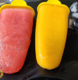 Mango and Watermelon Popsicle Recipe