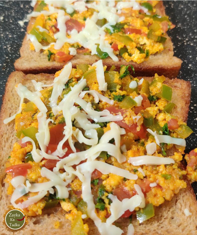 Masala Paneer Toast Recipe