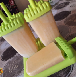Mango Milk Popsicles Recipe