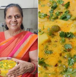 Aloo Matar Ki Dahi wali Sabji Recipe