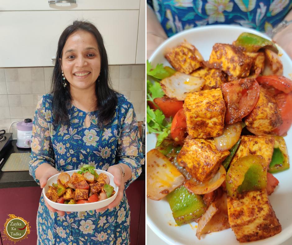 Tandoori Paneer Recipe