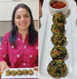 Spinach Cheese Balls Recipe