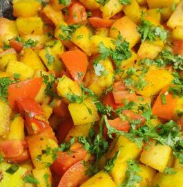 Watermelon Rind Sabji | Tarbooj Chilka Sabji Recipe