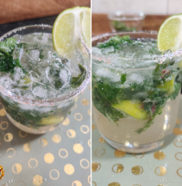 Lemon Mint Mojito Recipe
