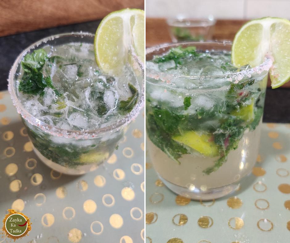 Lemon Mint Mojito Recipe