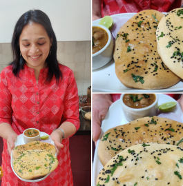 Bread Kulcha Recipe