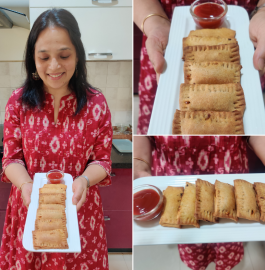 Pizza McPuff In Air Fryer Recipe
