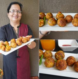Bache Hue Chawal Ke Pakode | Leftover Rice Pakode Recipe