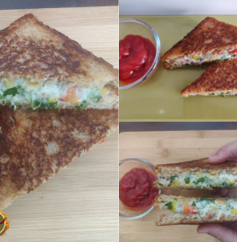 Corn Mayonnaise Sandwich Recipe