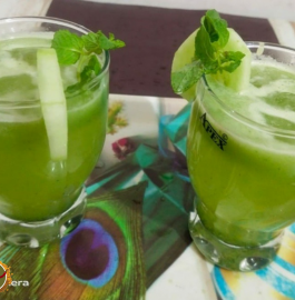 Cucumber Splash Mocktail Recipe