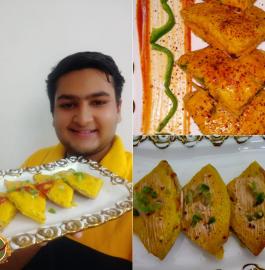 Dhokla Pizza Recipe
