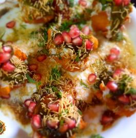 Moong Dal Pakodi Chaat Recipe