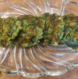 Palak Paneer Cutlet Recipe
