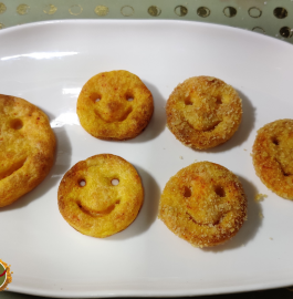Potato Smiley | Baked Potato Smiley Recipe