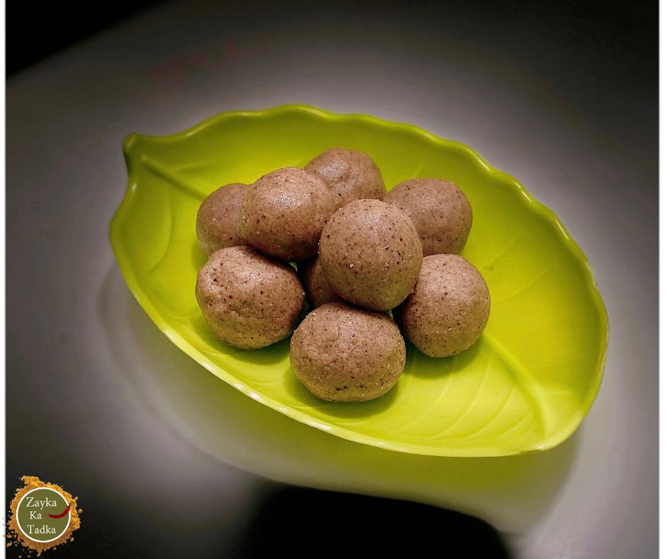 Iron Rich Laddu Recipe