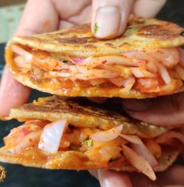 Aloo Roti Sandwich Recipe