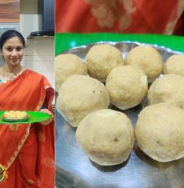 Chana Dal Laddu | Roasted Bengal Gram Laddu Recipe
