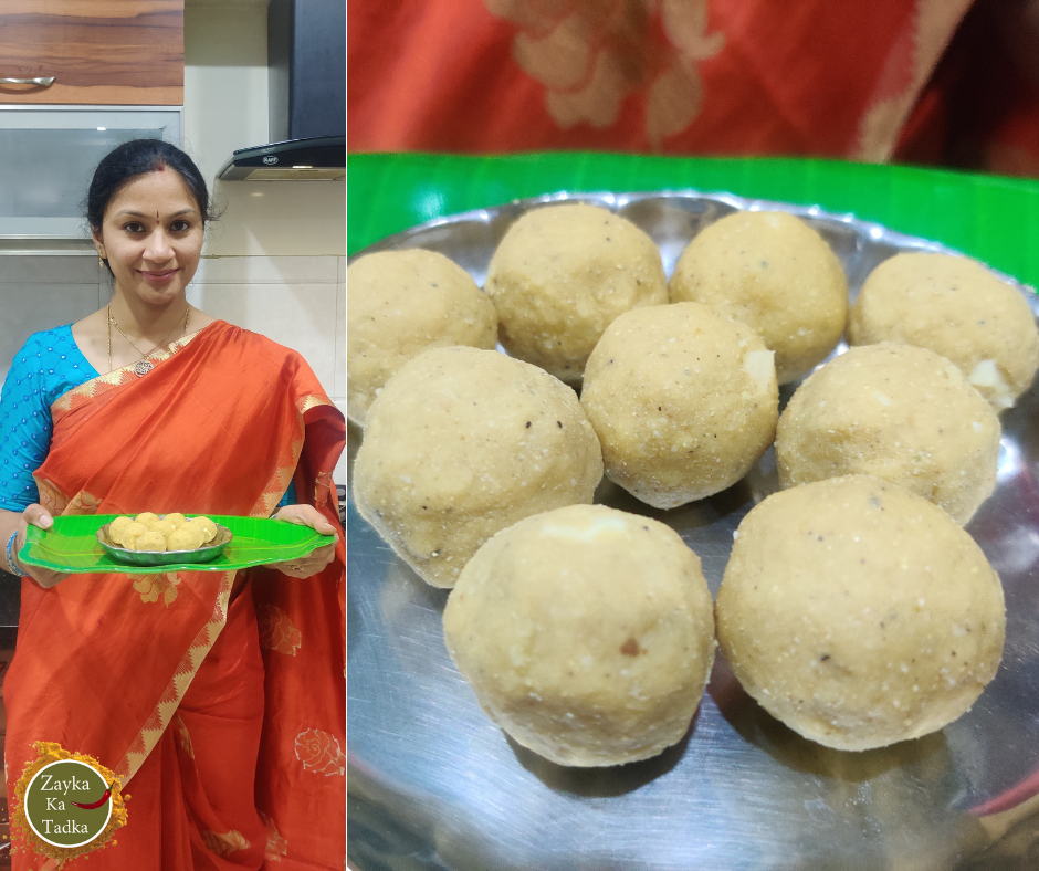 Chana Dal Laddu   Roasted Bengal Gram Laddu Recipe