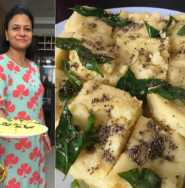 Instant Dhokla In Microwave Recipe