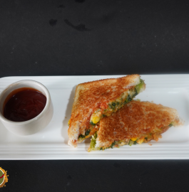 Mix Veg Sandwich | Mix Vegetable Sandwich Recipe
