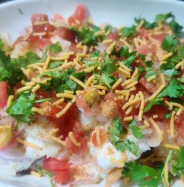 Dahi Papadi Chaat Recipe