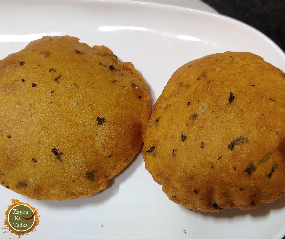 Aloo Puri   Potato Puri Recipe