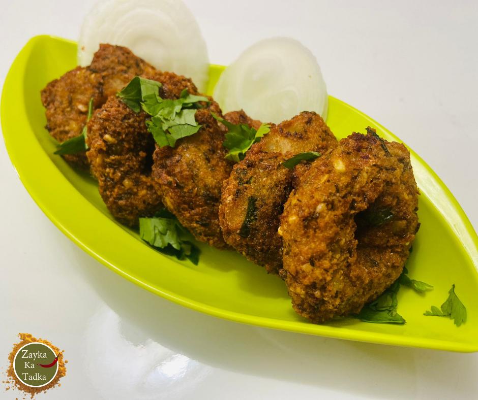 Garelu | Green Moong Dal Vada Recipe
