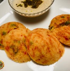 Masala Stuffed Idli Recipe