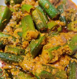 Dahi Wali Bhindi | Restaurant Style Bhindi Recipe