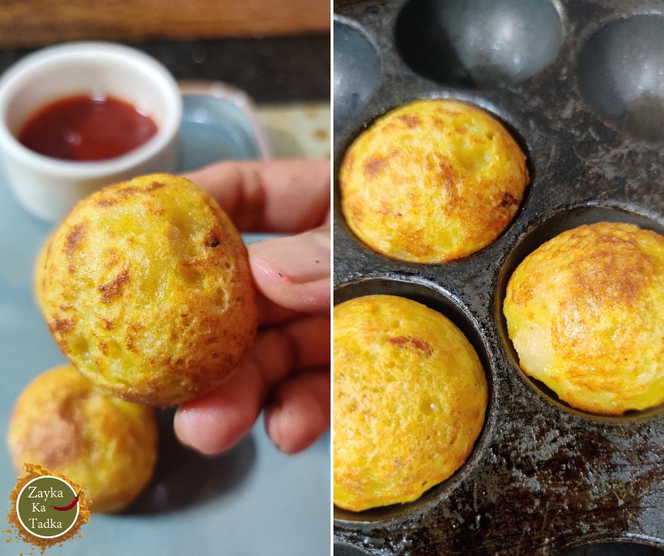 Stuffed Sooji Appe Recipe