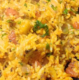 Tomato Potato Rice Recipe