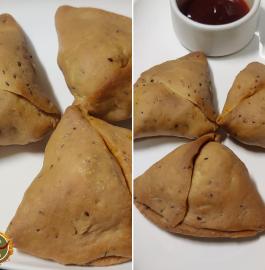 Samosa - Without frying Recipe