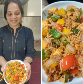 Chili Paneer Fried Rice Recipe