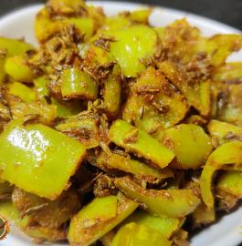 Dhaba Style Mirchi Ki Sabji Recipe