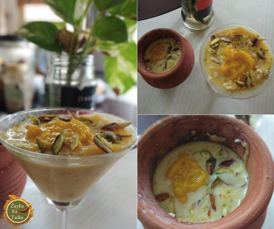 Mango Kheer   Aam Ki Kheer Recipe