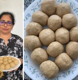 Poha Laddu | Flattened Rice Laddu Recipe