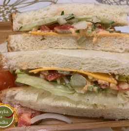 Veg Subway Sandwich Recipe