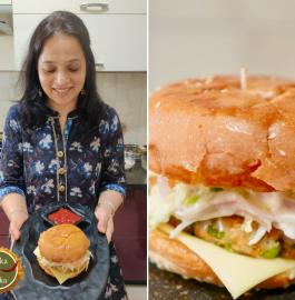 Veg Burger Recipe