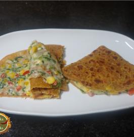 Roti Palak Sandwich Recipe
