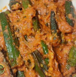 Dhabha Style Masala Bhindi Recipe