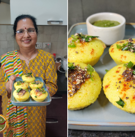 Suji Dhokla Muffins Recipe