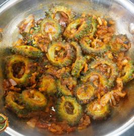 Besan Karele Ki Sabji Recipe
